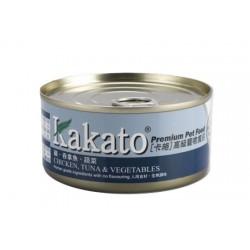 Kakato 雞 + 吞拿魚 + 蔬菜 170g