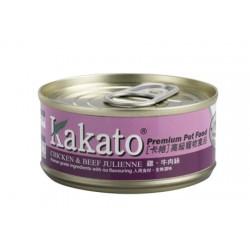 Kakato 雞+牛肉絲 170g