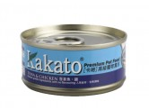 Kakato 吞拿魚 + 雞 70g (湯是啫喱狀)