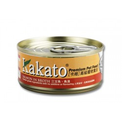 Kakato 三文魚 + 魚湯 170g