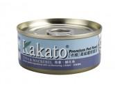 Kakato 吞拿魚+鯖花魚 170g