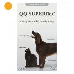 QQ Superflex 鹿茸QQ (犬貓用) 60粒
