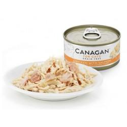 Canagan 雞肉伴三文魚貓罐頭(橙色)75g