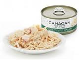Canagan 雞肉伴鱸魚貓罐頭(綠色) 75g