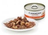 Canagan 吞拿魚+蝦 (深橙色) 無穀物貓罐頭 75g