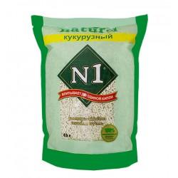 N1 Naturel (原味)粟米豆腐貓砂 6L x8 (增量裝) *買多啲慳多啲* *原裝行貨*