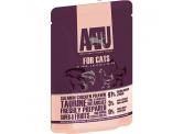 AATU 雞+三文魚+蝦 全配方貓濕糧 85g (粉紅)