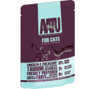 AATU 雞+野雞 全配方貓濕糧 85g (藍)