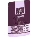 AATU 雞+鵪鶉 全配方貓濕糧 85g (紫)