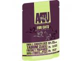 AATU 鴨肉+雞肝 全配方貓濕糧 85g (綠)