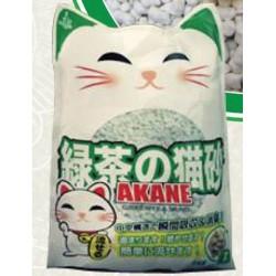 Akane 日本綠茶強力除臭紙砂 7L x7