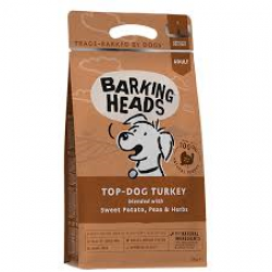 Barking Heads 無穀物全天然成犬(放養火雞)配方 12kg (啡色) (BHT12)