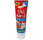 CIAO 支裝貓小食-日本乳酸菌肉泥膏小食 80g (吞拿魚及北寄貝)(CS-152) x4