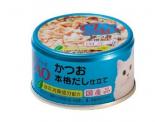CIAO - 鰹魚+鰹魚湯底 貓用主食罐 85g (A-89)