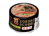 CIAO - 雞肉+蟹柳棒 貓用主食罐 (7歲貓以上) 75g (M-31)