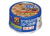 CIAO - 鰹魚+木魚片 貓用主食罐 (7歲貓以上) 75g (M-32)