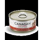 Canagan 吞拿魚+蟹肉 (紅色) 無穀物貓罐頭 75g x 24 (可混款)