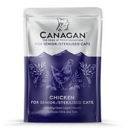 Canagan 雞肉主食肉醬濕包 (紫色) 85g -老貓用