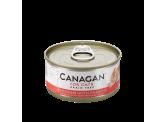Canagan 無穀物雞肉伴蝦貓罐頭75g (蝦肉色)