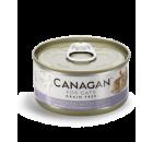 Canagan 雞肉伴鴨肉 (灰藍色) 無穀物貓罐頭 75g x 24 (可混款)