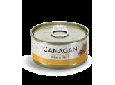 Canagan 雞肉伴吞拿魚貓罐頭(啡黃色) 75g