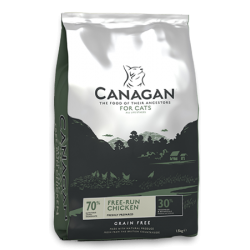 Canagan Free-Run Chicken 無穀物走地雞 (全貓糧) 4kg  **糧是圓扁形**