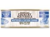 Country Naturals 無穀物 - (汁煮) - (藍色) 白鮭魚雞肉 貓罐頭 5.5oz