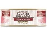 Country Naturals 無穀物 - (汁煮) - (深紅色) 鮮味三文魚 貓罐頭 5.5oz