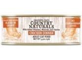 Country Naturals 無穀物 - (汁煮) - (橙色)香濃雞肉 貓罐頭 5.5oz