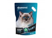 Diamond 強效除臭優質礦物貓砂 4kg (藍)