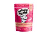 Meowing Heads MH 無穀物 三文魚,放養雞,草飼牛,園香草 貓用主食濕包 100g