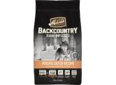 Merrick BackCounrty 無穀物天然全犬糧 三文魚,白魚+凍乾生肉配方 4Ib
