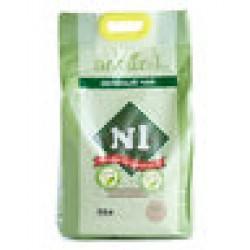 N1 Naturel (綠茶- 2mm 幼粒)粟米豆腐貓砂 17.5L (新優惠) *原裝行貨*