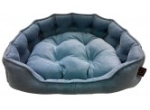 One for Pets Duna Snuggle Bed 藍色-L