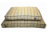 One For Pets Outdoor Pillow Bed 戶外室內兼用型 -  Brown Stripe (M)