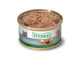 Petssion 厚切白吞拿魚浸鴨肉粒 80g (貓罐頭)