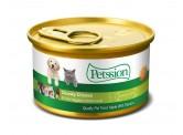 Petssion 清湯雞肉農業莊野菜 85g (貓罐頭)