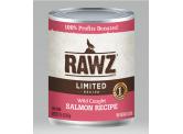 RAWZ 無穀物 - 單一蛋白 野生三文魚 主食狗罐頭 354g