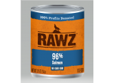 RAWZ 無穀物96% 三文魚 主食狗罐頭 354g