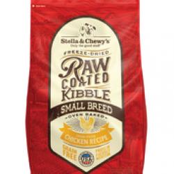 Stella & Chewy's 凍乾生肉外層低溫烘焙乾糧-放養雞小型犬配方 (10Ib)
