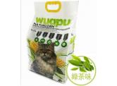 WUAPU 粟米豆腐貓砂 (綠茶味 - 3mm) 17.5L