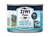 ZiwiPeak 鯖魚+羊肉配方(貓罐頭) 185g