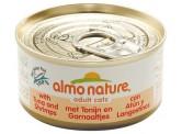 Almo Nature 原隻鮮蝦吞拿魚 70g