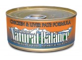 Natural Balance 雞肉+肝貓罐頭 (5.5oz) x 24罐