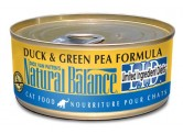 Natural Balance 鴨肉+豌豆貓罐頭 (5.50z)