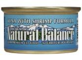 Natural Balance 吞拿魚+蝦貓罐頭 (5.5oz)