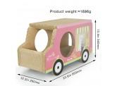 雪糕車(粉紅色)-瓦通紙貓抓板