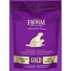 Fromm (金裝) 小型犬糧-雞鴨羊魚蔬菜配方 5Ib