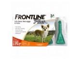 Frontline Plus 殺蚤除牛蜱藥水 (適合8週齡以上及10kg以下狗隻) 1盒3支 x2盒