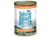 Natural Balance 甜薯魚肉 狗罐頭 (369g) x 24